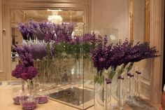 In Paris, the best place to see the most amazing flower arrangements is the Hotel George V in Avenue George V. It's also a great excuse to stop by for their fabulous afternoon tea or even a cocktail. (A Taste of Travel)