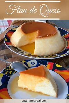 Mexican Sweet Breads, Mexican Food Recipes, Dessert Recipes, Cheese Flan Recipe, Flan Dessert, Colombian Cuisine, Delicious Desserts, Yummy Food, Yummy Yummy