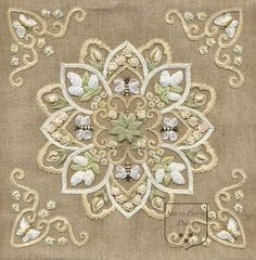 By Marie Pierre Theus #handembroidery #needlework #bordado #broderie #embroidery #ricamo
