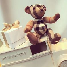 buying a Burberry teddy bear. Dream Baby, Baby Love, Burberry Bear, Latest Design Trends, My Teddy Bear, Love To Shop, Future Baby, Girly Things, Paper Flowers