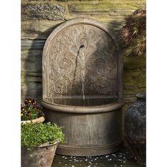 Installer une fontaine murale de jardin- conseils, vidéo, photos ...