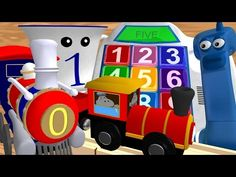 Numbers & Counting 1-10 Collection: Number Lessons for Children - YouTube