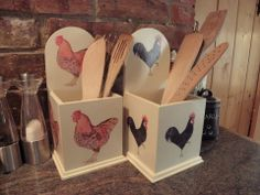 19 Days to Go - Looking for a #christmas gift for the #kitchen this year? I Like #chickens has a great range of kitchen accessories, all wonderfully decorated with our #poultry pals
