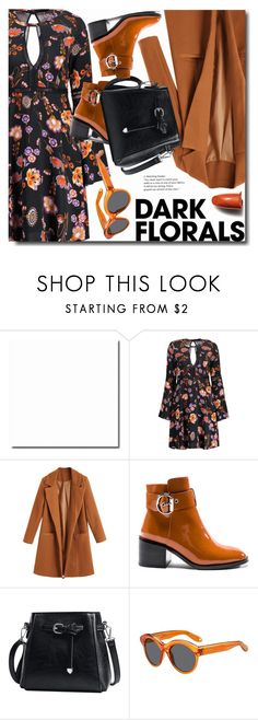 """""""Enter contest Save Draft Open New       WomenMenHomeMy ItemsCollectionsContestzaful×zaful×Shoes×zaful×Magazine Ar...× × ×Shoes× × Winter Prints: Dark Florals"""" by soks ❤ liked on Polyvore featuring Jeffrey Campbell, Givenchy and Shiseido"""