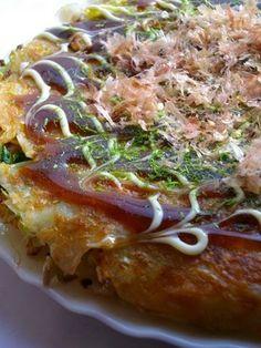食べてみんちゃぃ広島のお好み焼き