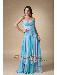 Buy chiffon blue beadings sweetheart celebrity gowns with appliques from oscars celebrity dresses collection, sweetheart neckline a line in blue color,cheap dress with lace up back and watteau train for prom formal evening party celebrity . Cheap Pageant Dresses, Discount Prom Dresses, Cheap Gowns, Strapless Prom Dresses, Elegant Prom Dresses, Designer Prom Dresses, Beaded Prom Dress, Beautiful Prom Dresses, Homecoming Dresses