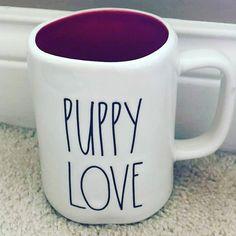 New Rae Dunn Puppy Love mug NMP