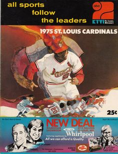 1975 Cardinals Scorecard