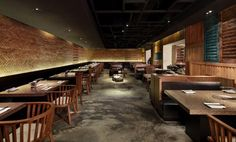 DZine Trip | Japanese Restaurant design based on the contemporary old Shanghai style: Yakiniku Master by Golucci International Design | http://dzinetrip.com