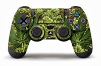 PS4-DualShock-4-Custom-Skin-Designed-by-247Skins   #PS4 DualShock 4 Custom Skin Designs by #247Skins Available Now On Amazon