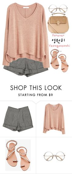 """#89"" by songjieun ❤ liked on Polyvore featuring Alice + Olivia, MANGO, Elina Linardaki, Retrò and Accessorize"