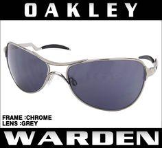 超sale開催 OAKLEY オークリー サングラス WARDEN:ワーデン(CHROME/GREY) 8,303円