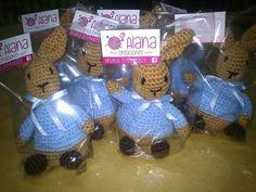 Souvenir conejos #AlanaCreaciones