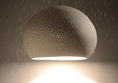 15 in. Claylight: Modern Ceramic Pendant Light