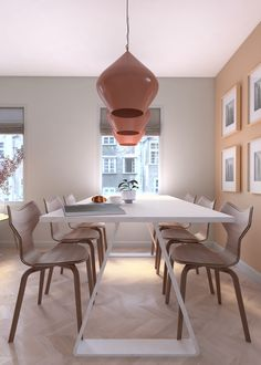 Design interior - UBE studio - Amenajare contemporana dining room / living Dining Room, Dining Table, Ube, Design Projects, Restaurant, Interior Design, Studio, Furniture, Home Decor