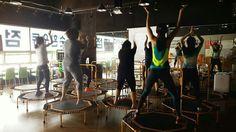 평택점핑을 대표하는 비전동 소사벌 넘버원 점핑 심플핏쉘니스센터  #jumping #trampoline #fit #fitness