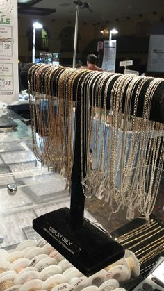 #tucsongemshow Super Specials on findings, chain, wire, & beads! We're at the Tucson Gem Show / Holidome / Upper Terrace.