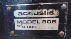 2x Acoustic Bass Boxen Model 806 in Dortmund - Dortmund-Innenstadt-West | Musikinstrumente und Zubehör gebraucht kaufen | eBay Kleinanzeigen