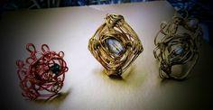 Αυτή είναι νέα τάση στα δαχτυλίδια για τον Χειμώνα 2019-2020. Πανέμορφα, χειροποίητα και οικονομικά. Earrings, Jewelry, Fashion, Ear Rings, Moda, Stud Earrings, Jewlery, Jewerly, Fashion Styles