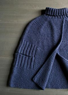 Purls Bee City Cape... on my knitting list for next year knit in a lovely alpaca yarn!