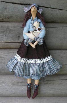 Tilda cloth doll
