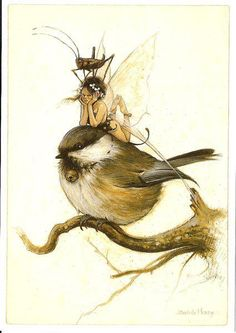 Fairy and fantasy art images, fairy pictures & drawings, flower and butterfly illustrations from Fairies World. Fairies World, Fairy & Fantasy Art Gallery - Jean-Baptiste Monge (Paintings)/JBMONGE Magical Creatures, Fantasy Creatures, Fantasy World, Fantasy Art, Illustrations, Illustration Art, Elves And Fairies, Jean Baptiste, Fairy Art