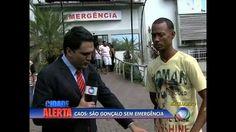 Prefeitura de São Gonçalo (RJ) suspende atividades em hospital de emergência - Vídeos - R7