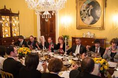 President Barack Obama and First Lady Michelle Obama host a Passover Seder Dinner for…