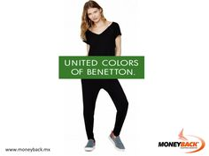 MONEYBACK MEXICO. Visit BENETTON in the Perisur shopping mall, south of Mexico City, get to know the soul of this colorful and energetic brand, buy any product, keep your receipt and come to our module for a tax refund for foreign tourists! #moneyback www.moneyback.mx