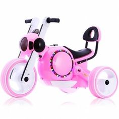 Child Electric Motorcycle Tricycle Baby Scooter Non-slip Protective Design Music LED Lights Sale - Banggood.com