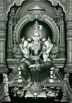 Saraswati Goddess, Goddess Lakshmi, Shiva Shakti, Kali Hindu, Hindu Art, Lord Hanuman Wallpapers, Lakshmi Images, Lord Shiva Family, Indian Goddess