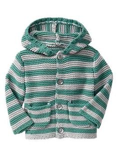 Striped garter-stitch sweater | Gap