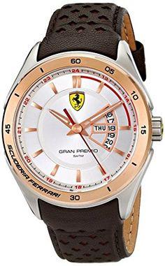 Ferrari Men's 0830184 Gran Premio Analog Display Quartz Brown Watch - http://www.caraccessoriesonlinemarket.com/ferrari-mens-0830184-gran-premio-analog-display-quartz-brown-watch/  #0830184, #Analog, #Brown, #Display, #Ferrari, #Gran, #MenS, #Premio, #Quartz, #Watch #Enthusiast-Merchandise, #Ferrari