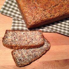 """ Greenway36 - Food "": Brot mal ohne Mehl - Proteinbrot mit Quark"