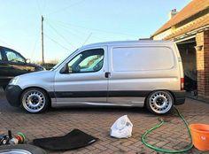 @sam7986 's Berlingo Looks Deadly #ModifiedVans #Citroen #Berlingo GO FOLLOW @sam7986 by modifiedvans