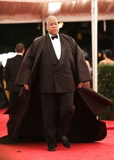 ANDRE LEON TALLEY AT MET COSTUME BALL...BEST DRESSED! Oh my word!!  LOVE