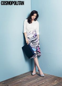 Kang Sora Does Fun Office Looks in Latest Fashion Shoot for Cosmopolitan Fashion Mag, Fashion Shoot, Work Fashion, Asian Fashion, Fashion Outfits, Latest Fashion, Kang Sora, Office Looks, Korean Actresses