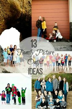 13 Family Picture outfit ideas!!