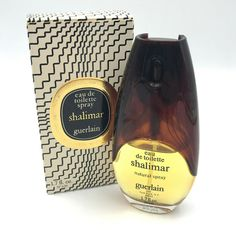 Vintage Shalimar Guerlain No 659 Eau De Toilette Spray 50 ml oz in Box Perfume And Cologne, Cologne Spray, Shalimar Guerlain, Bath And Body Works, Body Lotion, Health And Beauty, Fragrance, Vintage, Wonderful Things
