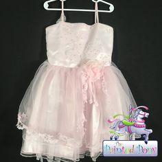 Stunning pink Popatu flower dress. Size Med. 19.99