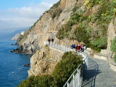 La Via dell'Amore, Cinque Terre, Liguria - © Roberto Merlo