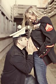 Maternity Photography of a Military Family