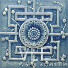 Faux-Relief Tile #41, from Villa Lagoon Tile