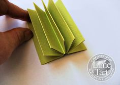 Step by Step – Mini Album --- By Kerryn Lawson for Lime Tart. ( Blog ) Wendy Schultz onto Tutorials. ( Step 2 )