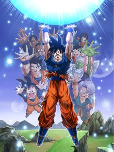 GenkiDama by mr. Cartoon Shows, Dbz Art, Dragon Ball Goku, Anime, Anime Dragon Ball Super, Cartoon, Anime Characters, Dragon
