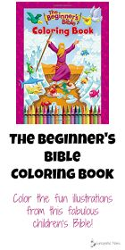 The Beginner's Bible Coloring Book Do you love this Bible as much as we do? Then you'll love having the chance to color its fun illustrations in this new coloring book!