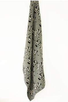 Zebra Baby Blanket NZ $49, unisex to stimulate the animal imagination. Perfectly warm, breathable & [attention Mum's] machine washable.