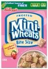 Frosted Mini-Wheats Bite-Size Cereal, Strawberry Delight, 16.3-Ounce Boxes (Pack of 3)