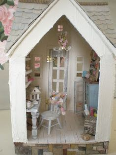 Cinderella Moments: The Craft Studio Custom Dollhouse