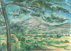 Paul Cézanne, Mount Sainte-Victoire with a Large Pine, The Courtauld Gallery